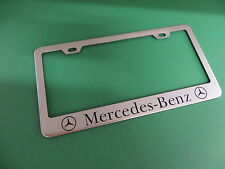 """(1pc)"""" MERCEDES-BENZ """" Stainless Steel license plate frame"""
