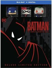 Batman The Complete Animated Series Deluxe Limited Edition Blu-Ray 12-disc Set