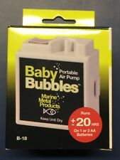 NEW! MARINE METAL BABY BUBBLE BOX AERATOR 3gal 2/AA B-18 BATTERIES INCLUDED!