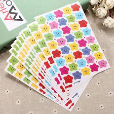 400pcs Smile Stars Decal School Children Kid Teacher Label Reward Sticker Happy
