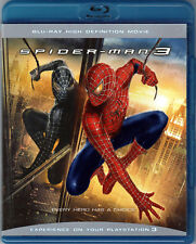 SPIDER-MAN 3 The MOVIE Sequel on a BLU-RAY of MARVEL COMIC Book SUPERHERO Video!