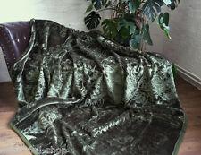 XXL LUXUS Tagesdecke Kuscheldecke Wohndecke Decke Plaid dunkel grün 200x240cm