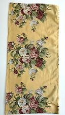 Ralph Lauren Kathleen KING Pillow Case Yellow Pink Rose Floral 19x40