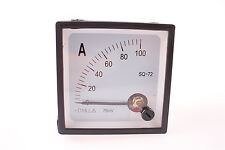 DC 100A High Quality 1Pcs Analog AMP Panel Meter Free Shipping New SQ-72