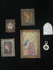 Collection Of Vintage French Religious Pictures Collectables