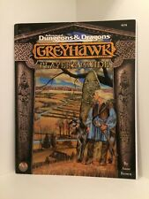 Greyhawk: Player's Guide, Advanced Dungeons & Dragons. (AD&D), RPG