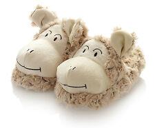 Hansen Ovis Plüsch Schaf Kinder Hausschuhe Tier Schuhe Tierschuhe Gr. 32 braun