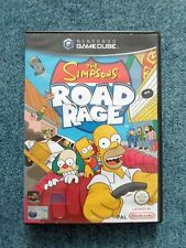 Nintendo Gamecube THE SIMPSONS ROAD RAGE Electronic Arts Video Game (b)