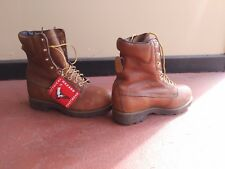 Lehigh MENS 7 WOMENS 9 Electrical Hazard Safety Steel Toe Work Boots NEW