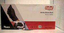 Colad Nitrile Gloves Black Large Heavy Duty 60 pcs