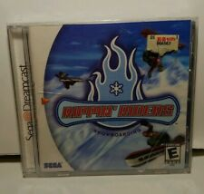 Sega Dreamcast-Rippin Riders Snowboarding brand new factory sealed