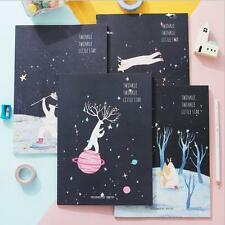 """""""Twinkle Star"""" Exercise Book Pack of 4 Cute Lined Notebook Journal Study Planner"""