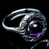 Amethyst 925 Sterling Silver Ring Size 9.25 Ana Co Jewelry R6024F