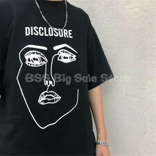 NEW portrait print black and white T-shirt loose short sleeve tee Fashion women