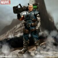 Mezco One 12 Collective Marvel Cable Action Figure