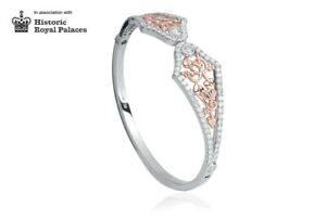 NEW Welsh Clogau White & Rose Gold 18ct gold Debutante Bangle £4450 off!