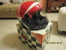 casco Nava integralnava GT vintage epoca replica Eddie Cheever F1 mai indossato.
