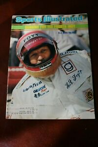 SPORTS ILLUSTRATED - May 19, 1975 - A.J. Foyt Wins the Pole Gunning for 4th Indy