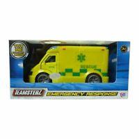 Brand New Teamsterz City Ambulance Car Emergency Response Light & Sound Toy