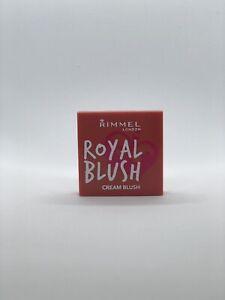 RIMMEL LONDON - Royal Blush - LONG LASTING - CREAM TO POWDER - 003 Coral Queen