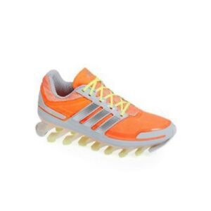 New Adidas Women's Springblade Running Shoe Orange and Silver