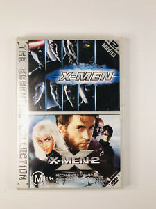 X-Men 1 / X-Men 2 DVD - The Essential Collection - Free Postage