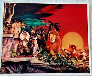 RARE 1994 WALT DISNEY WORLD LEGEND OF THE LION KING STAGE SHOW PUBLICITY PHOTO