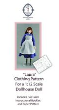 Dollhouse Doll Clothing Pattern-1:12 Scale Young Girl