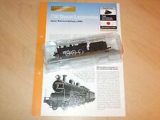 JNR - C50 Japanese Steam Locomotive  N Gauge 1.160 + Fact Sheet - New & Sealed