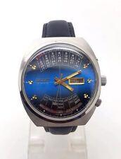 Orologio automatico Gents ORIENT 21 Gioielli Multi CALENDARIO, Japan made, usato.
