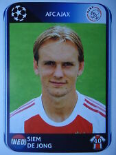 Panini 458 Siem de Jong Ajax Amsterdam UEFA CL 2010/11