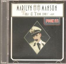"MARILYN MANSON ""This Is The New *hit"" 2 Track 3"" Inch Pock It! CD RARE"