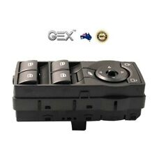 Replacement Power Window Master Switch Control For Holden Commodore VE Red Light