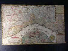 GENUA LANDKARTE ITALIEN J.G.SCHREIBER 25 x 17,3 cm LEIPZIG 1730