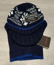 RRP £54 * CATIMINI * Boys Baby Designer Balaclava Hat * Age 18-36m * 50cm * Blue