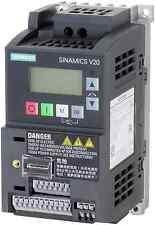 Siemens Basic Converter  6SL3210-5BB11-2BV1 SINAMICS V20 1 phase 0.12 Kw  0.9 A