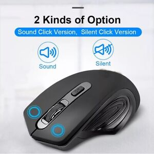 USB Wireless Mouse 2000DPI USB 2.0 Receiver Optical Computer Mouse 2.4GHz For PC