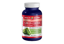 Organic Green Coffee Beans - GREEN COFFE BEAN EXTRACT CLEANSE - Fat Burner Pills