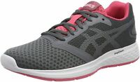Asics Patriot 10 Women's Running Shoes Fitness Gym Trainers Grey - UK 8 / EU 42