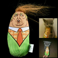 Cat Toys Stuffed Plush Corn Kitten Interactive Teaser Catnip Squeaky Y4N3