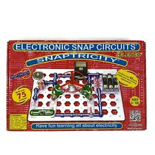 Elenco Electronic Snap Circuits Snaptricity Educational Over 75 Projects SCBE-75