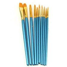 10X Nylon Hair Tip Paiting Brush Pen Best Gift Paint Brush Set Painting Supplies