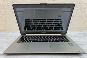 "Asus VivoBook S400C 14"" - i3-3217U - 4 GB RAM - 500 GB HDD (Italian Keyboard)"