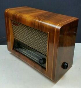 Pye P75 Vintage Valve Radio 1950s MW LW SW