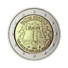 "Belgium 2 Euro commemorative coin 2007 - ""Treaty of Rome"" - UNC"