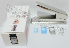 NANO SIM CUTTER FOR IPAD MINI REGULAR TO NANO & MICRO TO NANO + FREE ADAPTER
