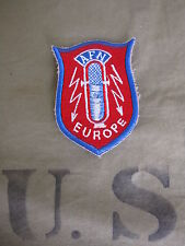AFN Europe Armed Forces Radio Network Correspondent Patch US Army Marines WK2