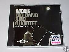 CD - THELONIOUS MONK - BIG BAND AND QUARTET IN CONCERT