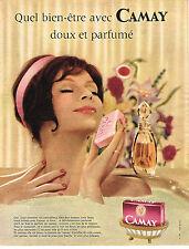 PUBLICITE ADVERTISING  1961   CAMAY  savon 2