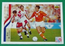 FOOTBALL CARD UPPER DECK 1994 USA 94 ROB WITSCHGE NEDERLAND PAYS-BAS KNVB